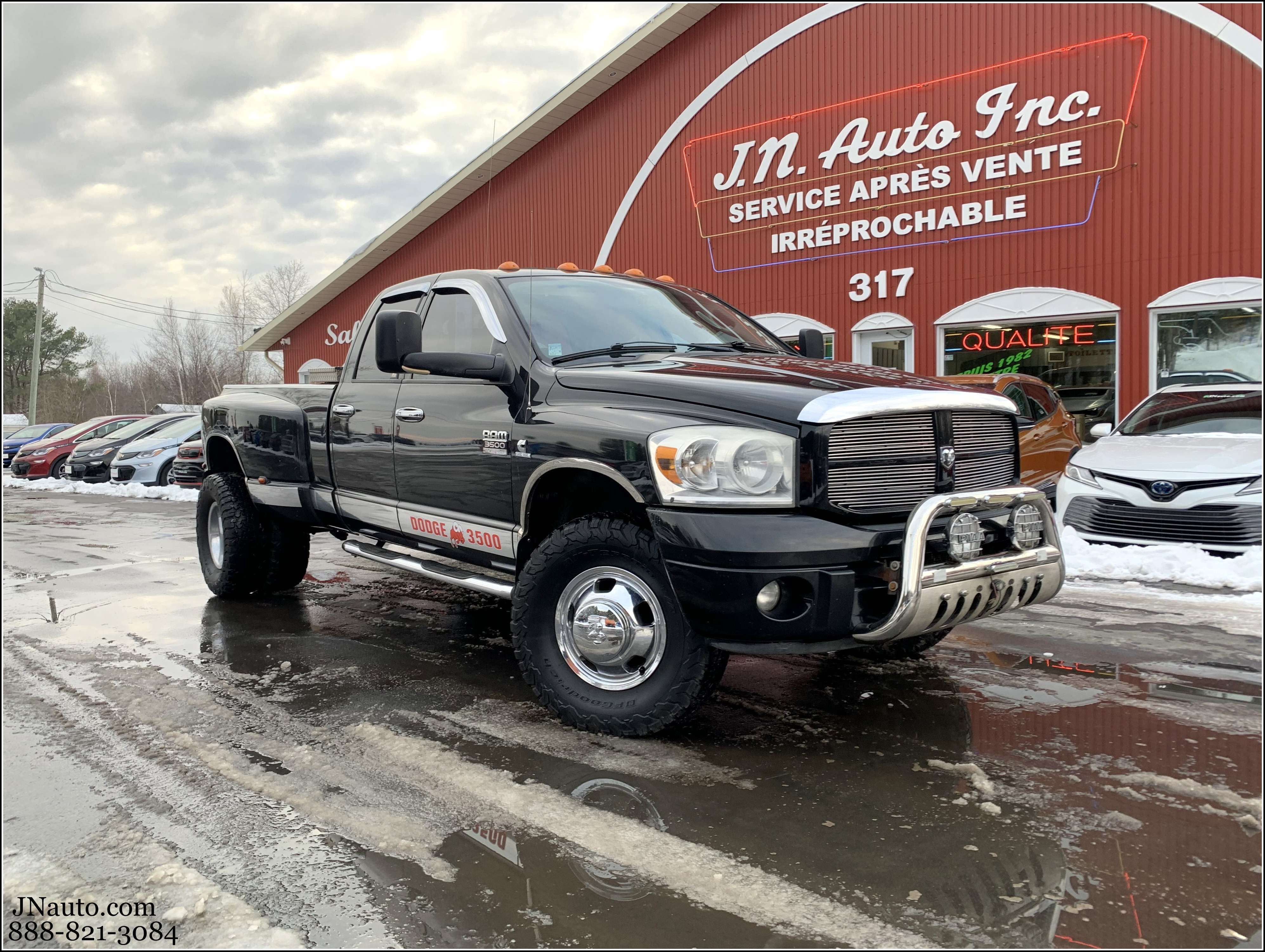 Used Dodge Ram 3500 Vehicle For Sale In Estrie Jn Auto