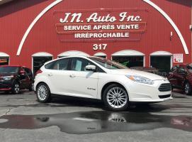 Ford Focus BEV 2018 Sièges en cuir et chauffants! jamais accidenté!  Chargeur 400v, Batt. 33.5kwh, chargeur 6.6 Kwh, Bas millage! $ 17939