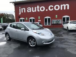 Nissan Leaf  2012 SV Québecoise, , Recharge110v,220v et  chademo 400v $ 8939