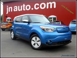 Kia Soul EV 2015 Luxe 6.6 kwh,recharge 220v/400v chademo, Cuir $ 26935