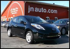 Nissan Leaf 2015 SV 6.6 kw **EN TRANSIT** Recharge 110v,220v et chademo 400v, GPS $ 20935