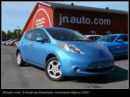 Nissan Leaf 2014 SV 6.6Kw **EN TRANSIT** Recharge 110v,220v et chademo 400v, GPS $ 17435