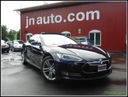 Tesla Model S 40 2013 Intérieur en cuir + toit ouvrant + gps $ 59935