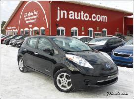 Nissan Leaf 2014 SV Québecoise 6.6 kw Recharge 110v/220v et chademo 400v, GPS $ 17436