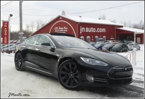 Tesla P85D  2014 MODEL S PERFORMANCE, AWD, Toit panoramique,Tech Package,Auto pilot, Supercharger gratuit a vie $ 89935