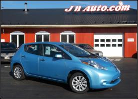 Nissan Leaf 2015 S+ 6.6 kw **EN TRANSIT**  Recharge 110v,220v et chademo 400v $ 18435