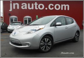 Nissan Leaf 2014 SL,Cuir,GPS 6.6 kwh,Recharge 110v/220v et  400v $ 21435