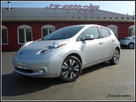 Nissan Leaf  2013 SL,Cuir,GPS 6.6 kwh,Recharge 110v,220v et  400v $ 17935